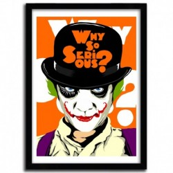 Affiche A CLOCKWORK JOKER par BUTCHER BILLY