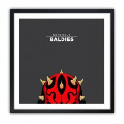 Notorious Baldie DARTH MAUL by Mr Peruca