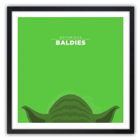 Notorious Baldie YODA by Mr Peruca