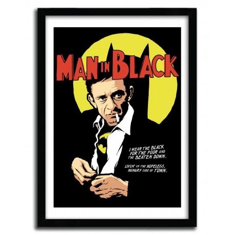 Affiche MAN IN BLACK par BUTCHER BILLY