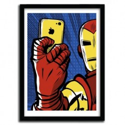 Affiche STARK SELFIE par BUTCHER BILLY
