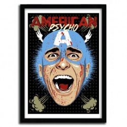 Affiche CAPTAIN PSYCHO par BUTCHER BILLY
