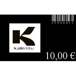 GIFT CARD 10 Euros