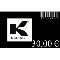 GIFT CARD 30 Euros