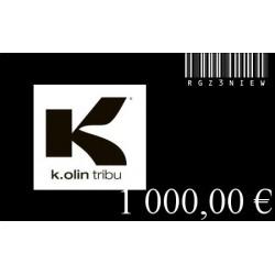 GIF CARD 1000 Euros