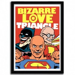 Affiche BIZARRE LOVE TRIANGLE par B. BILLY