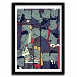 Affiche INGLOURIOUS BASTERDS par Ale Giorgini