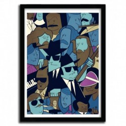Affiche BLUES BROTHERS par Ale Giorgini