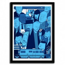 Affiche BREAKING BAD par Ale Giorgini