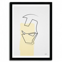 ONE LINE IRONMAN by QUIBE