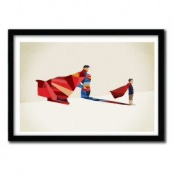 WALKING SHADOW, SUPERMAN by JASON RATLIFF