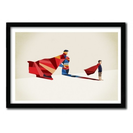 WALKING SHADOW, SUPERMAN by JASON RATLIFF