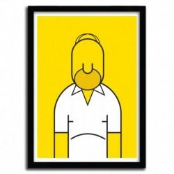 Affiche HOMER par Ale Giorgini