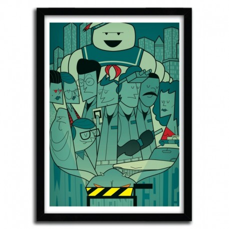 Affiche GHOSTBUSTERS par Ale Giorgini