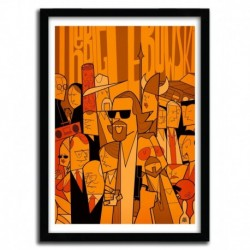 Affiche THE BIG LEBOWSKI par Ale Giorgini