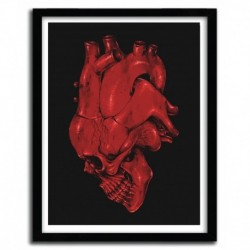 Affiche SKULL OF HEART by CARBINE