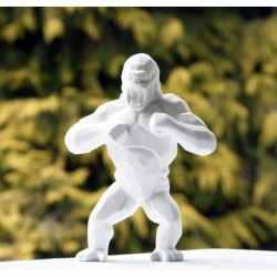 Wild Kong Porcelain by Richard Orlinski