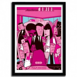 Affiche PULP FICTION par Ale Giorgini