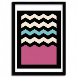 GEOMETRIC CHEVRON by FRANCISCO VALLE
