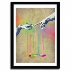 Affiche BUT DELIVER US FROM EVIL by ANGELO CERANTOLA