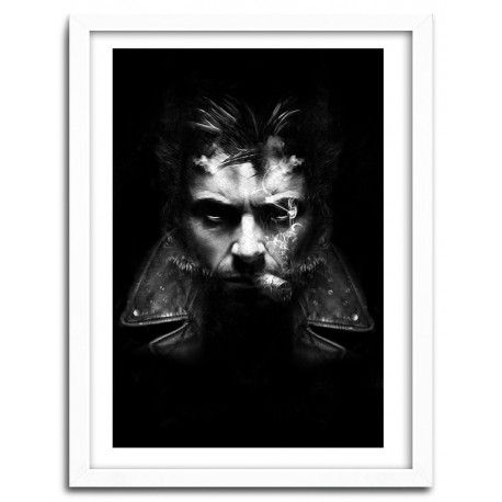 Affiche IMMORTAL WOLVERINE by Nicolas Obery FANTASMAGORIK