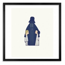 DARTH ART PRINT by ALE GIORGINI