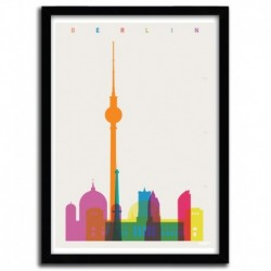 Affiche BERLIN  by YONI ALTER