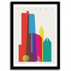 Affiche CHICAGO  by YONI ALTER