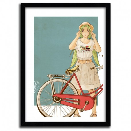 Art print BICYCLE by ISRAEL MAIA