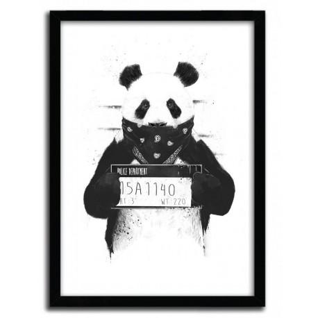 Affiche BAD PANDA par BALAZS SOLTI