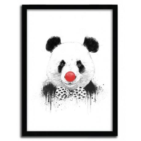 Affiche CLOWN PANDA par BALAZS SOLTI