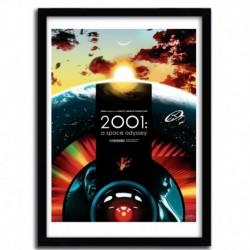 Affiche 2001 par JOSHUA BUDICH