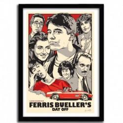 Affiche FERRIS BUELLES par JOSHUA BUDICH
