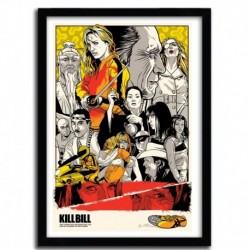 Affiche KILL BILL par JOSHUA BUDICH