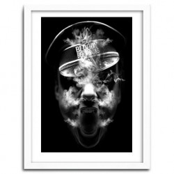 Affiche BLOODY SMOKER by Nicolas Obery FANTASMAGORIK