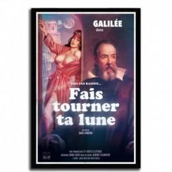 Affiche GALILEE par FISTS ET DES LETTRES