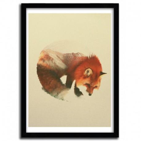 Affiche SNOW FOX par ANDREAS LIE