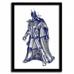 Affiche BATMAN par OCTAVIAN MIELU