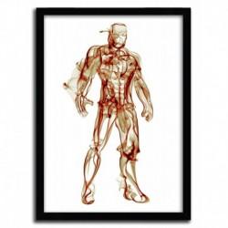 Affiche IRON MAN par OCTAVIAN MIELU