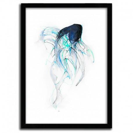 Affiche GHOST FISH par ALEXIS MARCOU