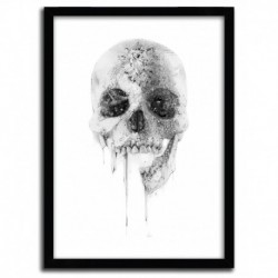 Affiche CRYSTAL SKULL par ALEXIS MARCOU