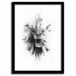 Affiche STONE LION par ALEXIS MARCOU