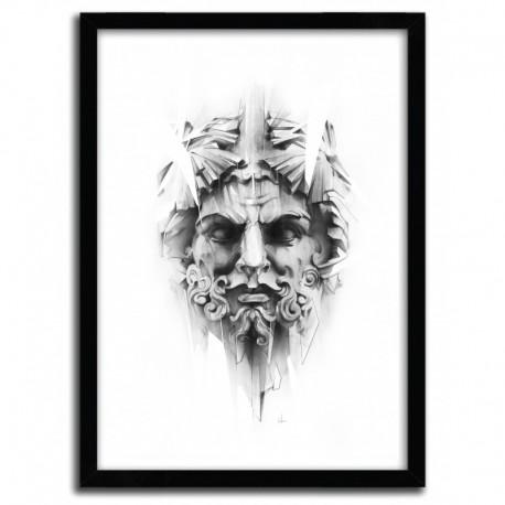 Affiche KING OF DIAMONDS par ALEXIS MARCOU