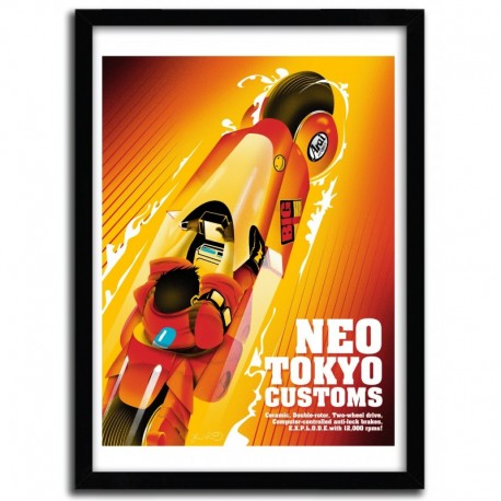 Affiche NEOTOKYO par JOSHUA BUDICH