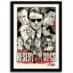 Affiche Reservoir Dogs par JOSHUA BUDICH