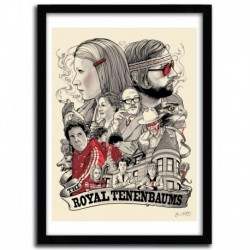 The Royals Tenenbaums by JOSHUA BUDICH