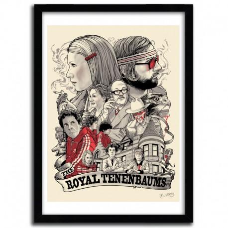 Affiche The Royals Tenenbaums par JOSHUA BUDICH