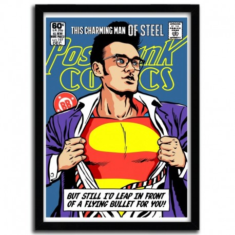 Affiche This Charming Man of Steel par B. BILLY
