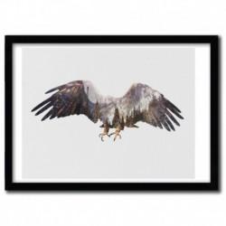 Affiche ARCTIC EAGLE par ANDREAS LIE