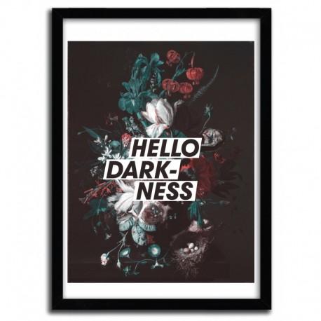 Affiche HELLO DARKNESS par HANS EISKONEN